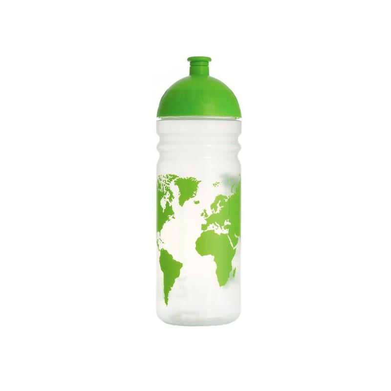 Bidon sport 0,7l réutilisable Carte du Monde