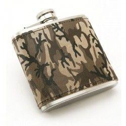 Flasque Inox Camouflage, 180ml