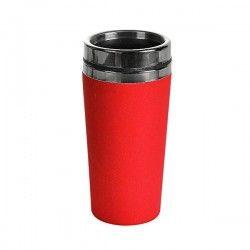 Mug isotherme inox et bambou 50cl