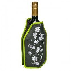Manchon rafraîchisseur pour bouteille dessin Vigne, 16x22.5cm