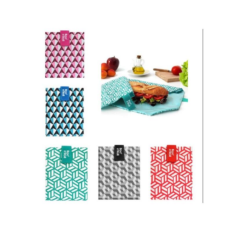 Emballage sandwich lavable et ajustable, avec velcro, 54x32cm