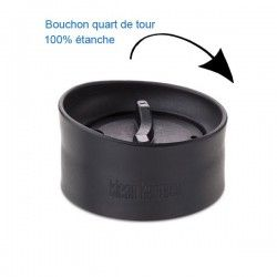 Gourde isotherme inox Klean Kanteen 0,47L, bouchon pour siroter