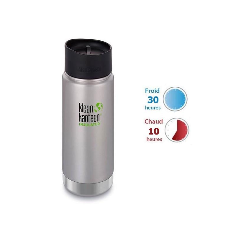 Mug isotherme inox Klean Kanteen 0,47L thé café eau