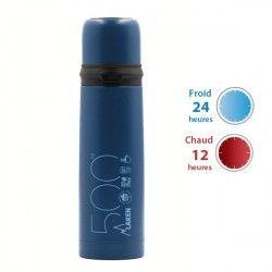 Thermo Bleu inox avec bouchon tasse de Laken