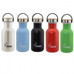 Gourde inox large goulot personnalisable