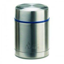 Lunch box enfant inox et isotherme, housse lignée 0,5 litre