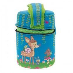 Lunch box enfant en inox et isotherme, Biche 0,5 litre