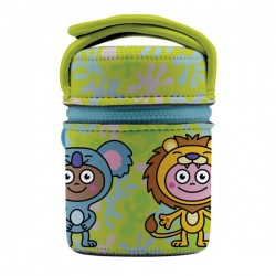 Lunch-box isotherme inox 500ml Animaux  - 1