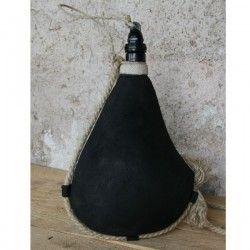 Gourde rustique noir des bateliers intérieur latex 1itre
